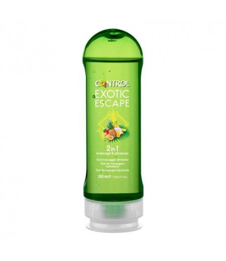 Control exotic escape 2 in 1 gel massaggio idratante 200ml