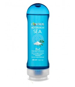 Control mediterranean sea 2 in 1 gel massaggio idratante 200ml