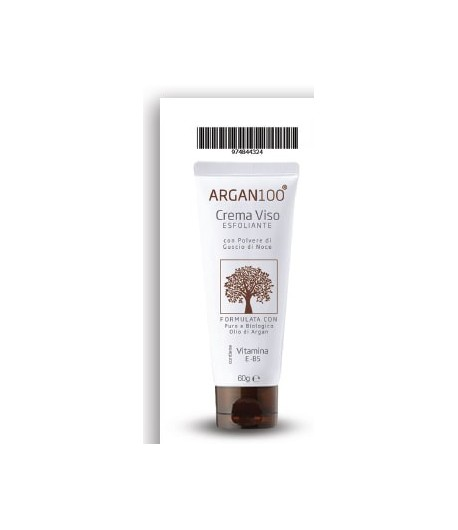 Argan100 crema viso esfoliante 60ml